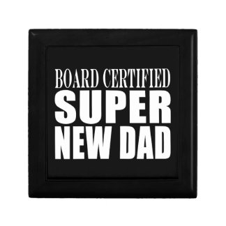 New Fathers Baby Showers Super New Dad Jewelry Boxes
