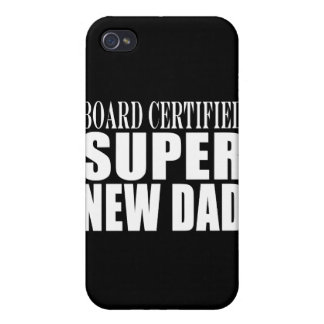 New Fathers Baby Showers Super New Dad iPhone 4/4S Covers