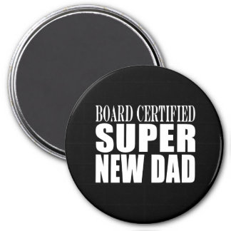 New Fathers Baby Showers Super New Dad Refrigerator Magnets