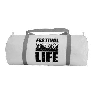 New FESTIVAL LIFE (blk) Duffle Bag