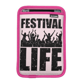 New FESTIVAL LIFE (blk) iPad Mini Sleeve