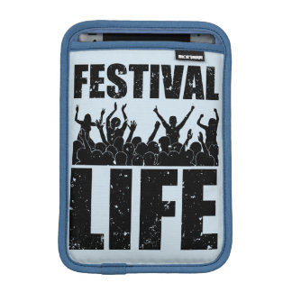 New FESTIVAL LIFE (blk) Sleeve For iPad Mini