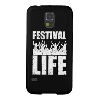 New FESTIVAL LIFE (wht) Galaxy S5 Cover