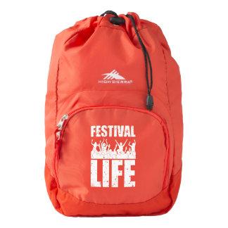 New FESTIVAL LIFE (wht) High Sierra Backpack