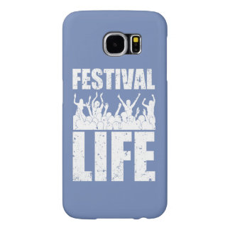 New FESTIVAL LIFE (wht) Samsung Galaxy S6 Case