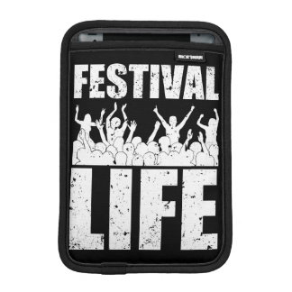 New FESTIVAL LIFE (wht) Sleeve For iPad Mini