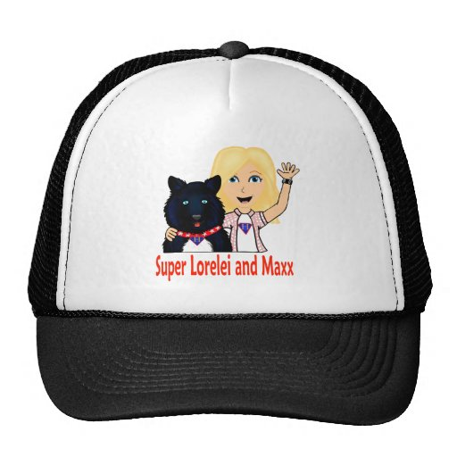 New Fictional Heroes Super Lorelei and Maxx Mesh Hat