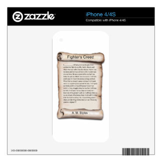 New Fighters Creed.jpg Skins For iPhone 4S
