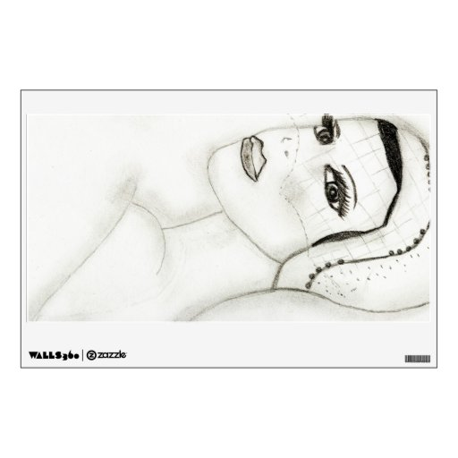 New Flapper Girl Wall Graphics