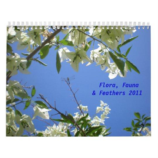 New Flora, Fauna, Feathers Calendar
