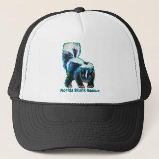 New Florida Skunk Rescue Design Trucker Hat