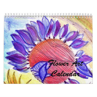 New Flower Art Calendar