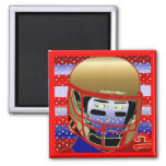 New Football Magnet Birthday Party Favor Gift