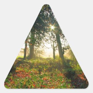 New Forest Garden Triangle Stickers