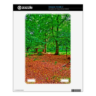 New Forest National Park Hampshire England Woods Decal For The Kindle 2