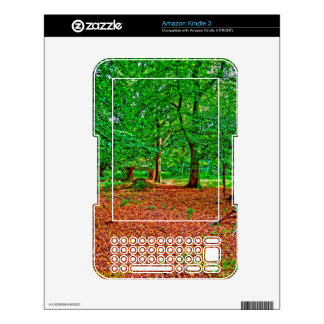 New Forest National Park Hampshire England Woods Kindle Decal