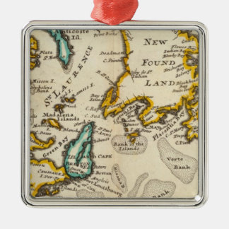 New Found Land, St Laurence Bay, Acadia Metal Ornament