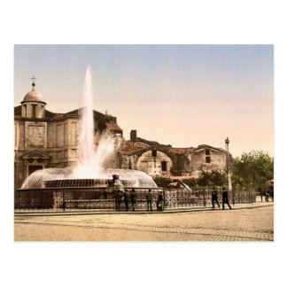 New Fountain and Diocletian's Spring, Rome, Italy Postcards