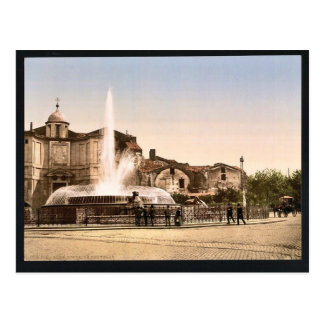 New Fountain and Diocletian's Spring, Rome, Italy Post Cards