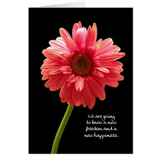 New Freedom New Happiness Inspiration Card