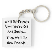 New Friends Keychain