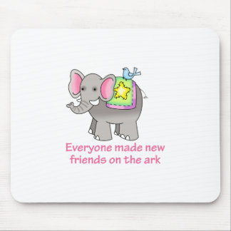 NEW FRIENDS ON THE ARK MOUSE PAD