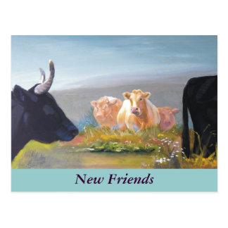 New Friends Postcard