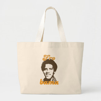 New Frobama brown Tote Bags