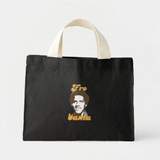 New Frobama brown Mini Tote Bag