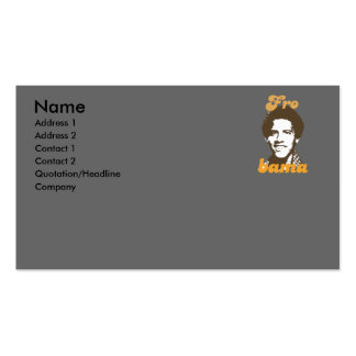 New Frobama brown Double-Sided Standard Business Cards (Pack Of 100)