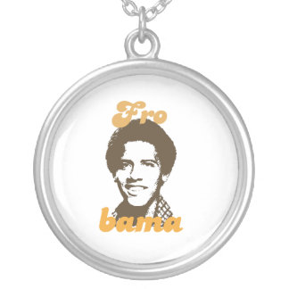 New Frobama brown Round Pendant Necklace