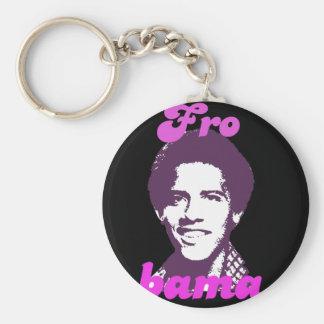 New Frobama (purple) Basic Round Button Keychain