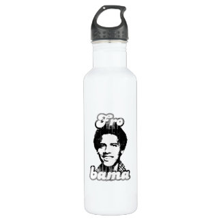New Frobama white Vintage.png 24oz Water Bottle