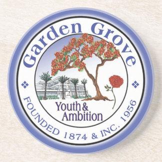 New Garden Grove City Seal Coaster