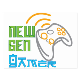 New Gen Gamer Postcard