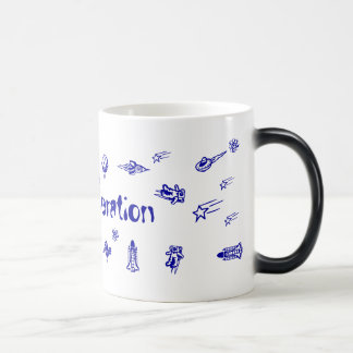 New Generation Space Galaxy Morphing Mug