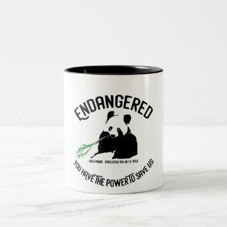 NEW - Giant panda endangered species mug