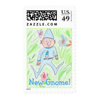 new gnome, New Gnome! Postage