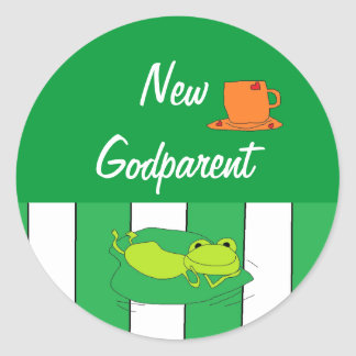 New Godparent Stickers