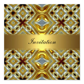 New Gold Birthday Invitation 2 Personalized Invitation