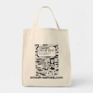 New Grad Grocery Tote Grocery Tote Bag