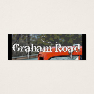New Graham Rd Business Card