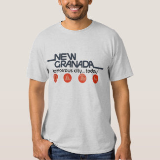 New Granada Tomorrows City Today T Shirt