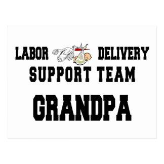 New Grandbaby New Grandpa Postcards
