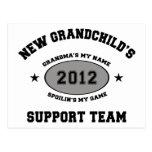 New Grandchild 2012 Postcard