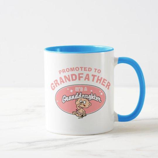 New Granddaughter Promoted To Grandfather Mug