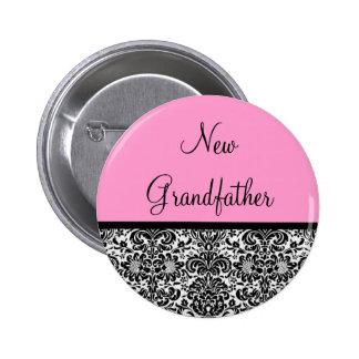 New Grandfather Pinback Button