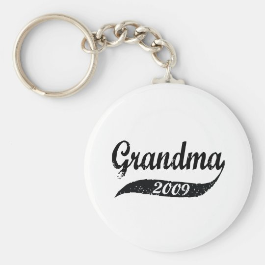 New Grandma 2009 Keychain
