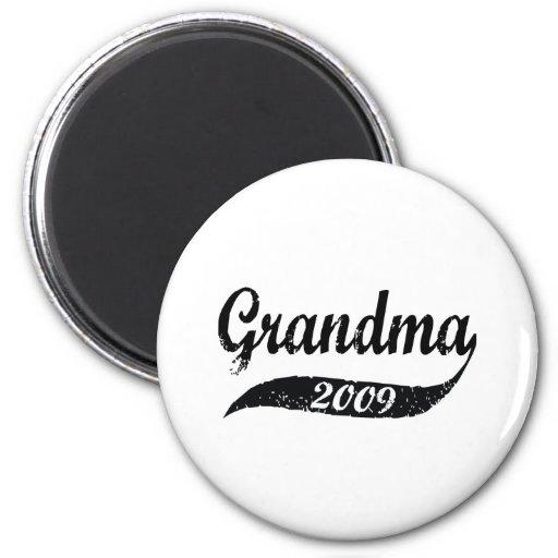 New Grandma 2009 Refrigerator Magnets