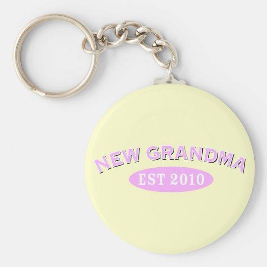 New Grandma 2010 Keychain